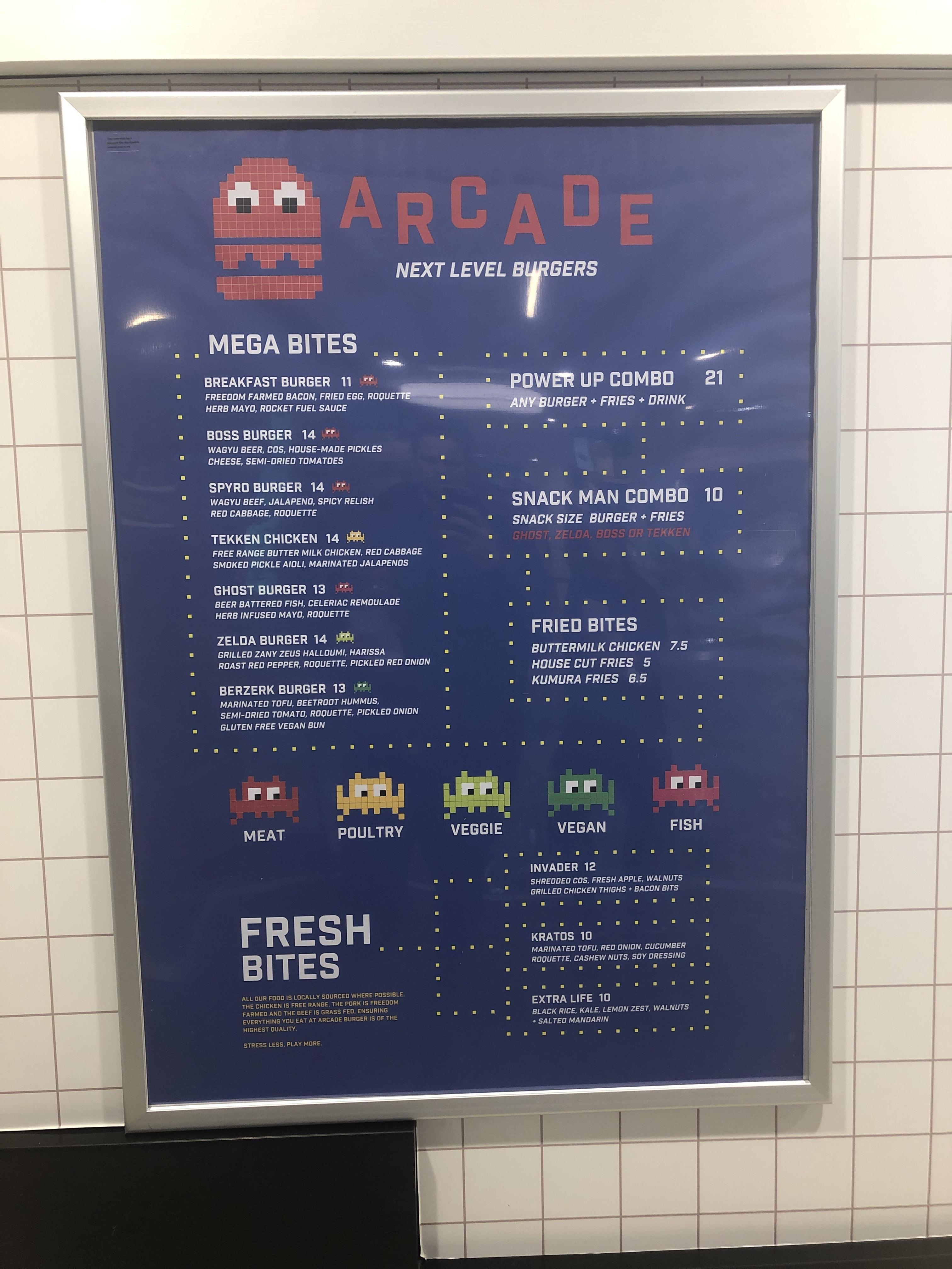 Arcade Burgers
